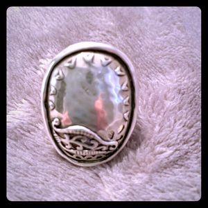 Silpada Silver Ring Size 5 1/2